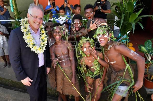 Australia pledges funds to fight climate change's effects on Pacific nations