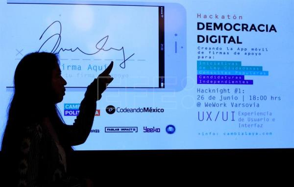 La democracia es digital: crean app para impulsar candidatos independientes