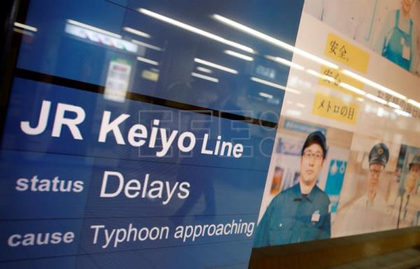 Typhoon Shanshan causes cancellation of over 250 flights in Japan