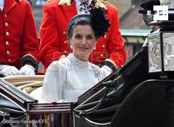 The Queen Invests King Felipe at Order of the Garter 2019