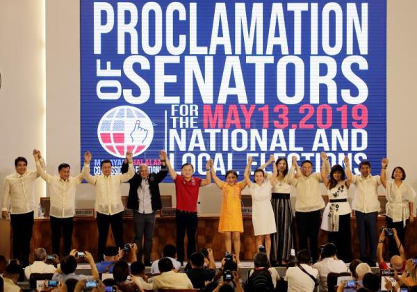Duterte's allies take Philippines Senate race following midterm polls