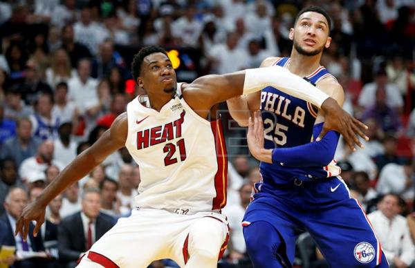 110-87. Whiteside y los Heat superan a los Knicks