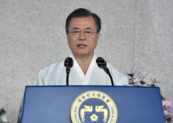 Seoul reaches out to Tokyo in Liberation Day address