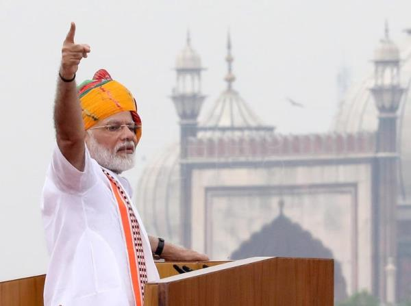 Modi defends ending Kashmir's special status in Independence Day address