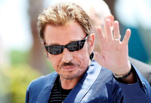 Archive image dated May 17, 2009 shows French musician and singer Johnny Hallyday at the 62nd Cannes Film Festival in Cannes, France (reissued Dec 6, 2017). EPA-EFE (FILE) /IAN LANGSDON